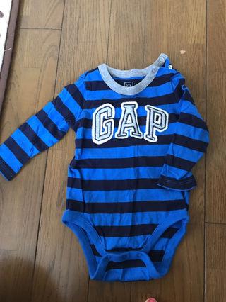 baby gapロンパース一回着用のみベビー70