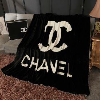 CHANEL新作毛布 人気ブランケット 寝具シングルサイズ