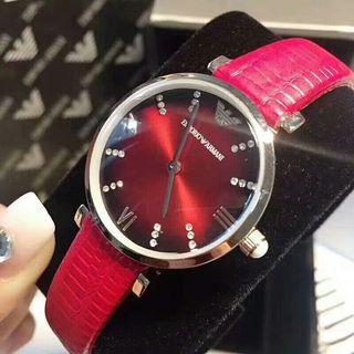 大美品 エンポリオ・アルマーニ ウォッチ シャレな腕時計