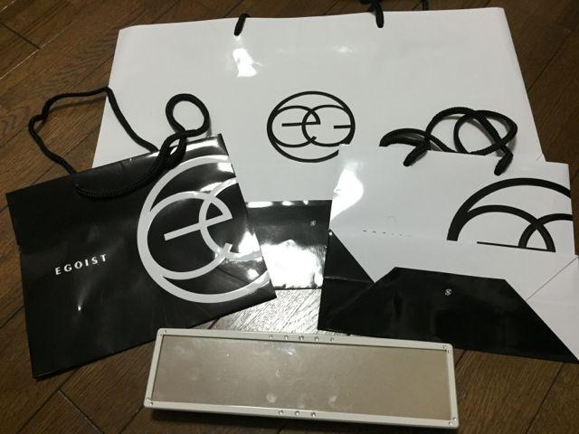 EGOIST/ショップ袋