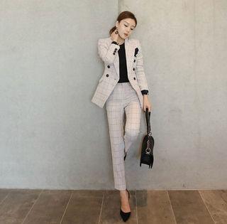 入園式入学式ビジネスにパンツスーツ