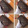 M61184ヴィトン 人気美品 可愛い2つ折長財布 4色