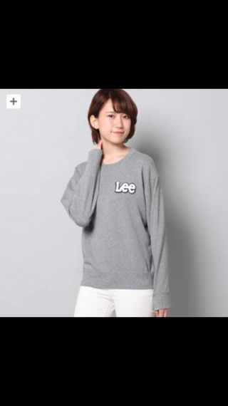 新品 Lee ワッペンロゴトレーナー/L