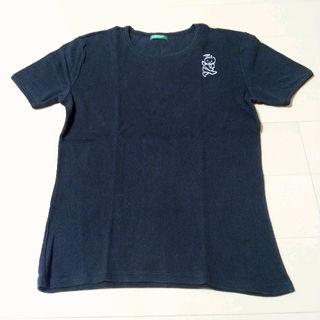 ベネトン BENETTON Tシャツ XS 天使 悪魔 黒