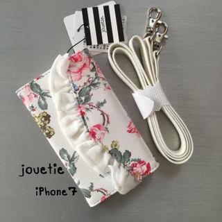 新品タグ付きjouetieiPhone7ケース手帳型花柄