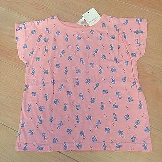 【新品】100cm サマンサ モス2 Tシャツ ピンク