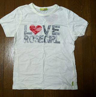ローズガール*ロゴTシャツ