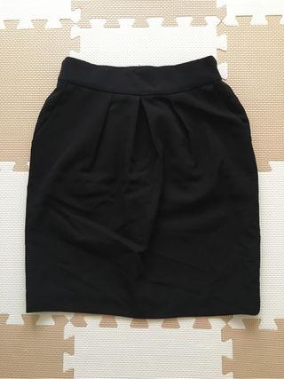 JEANASIS黒タイトスカート
