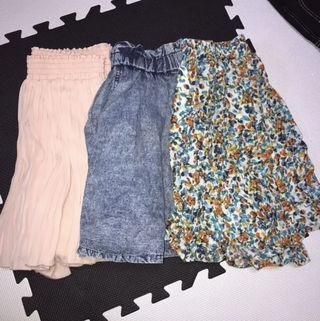 まとめ売り e ミニスカート キュロット 値札付き 新品
