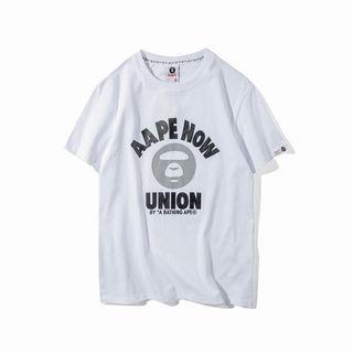 人気美品 エイプ/AAPETシャツ 男女