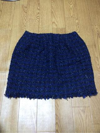 ツイード スカート