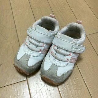 【13㎝】ファミリアベビーキッズスニーカーシューズ
