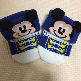 新生児用ミッキーの靴下