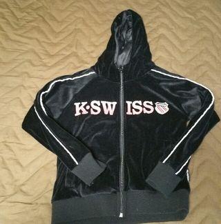 K・SWISS キッズパーカー