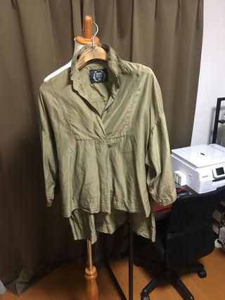 goaシルクシャツ