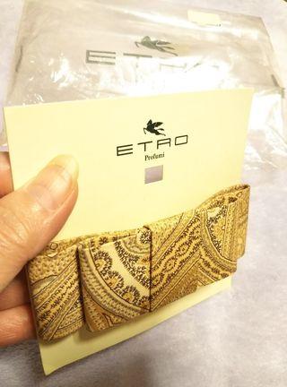 ETRO/エトロ◆本物◆ペイズリー柄バレッタ◆未使用品