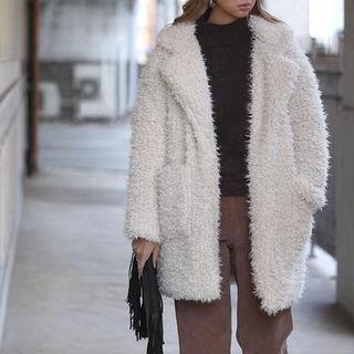 大人気商品在庫ラストCollar Fur Coat