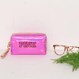 ヴィクトリアシークレット pink化粧ポーチ