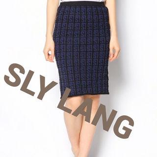 SLY LANG ニットスカート