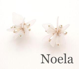 定価3,780円Noela マルチパールMIXイヤリング