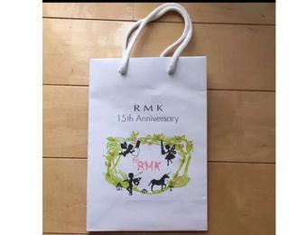 (送料無料)RMKショップ紙袋