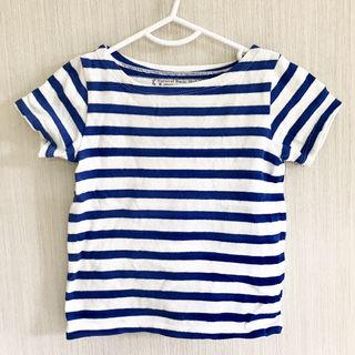 ボーダーTシャツ 80