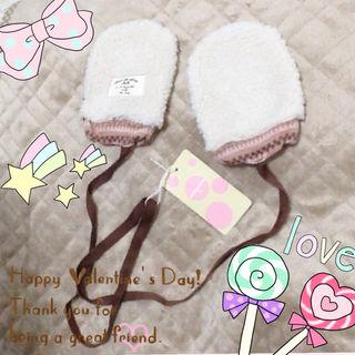【新品】定価2415円 ミトン 手袋 ベビー キッズ 冬服