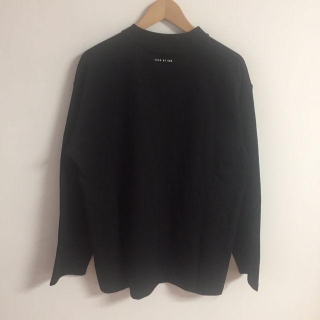 反射光りM-XLfogessentialsロングTシャツ