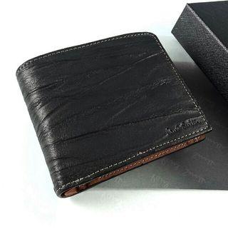 ポールスミス 二折財布 シワ加工