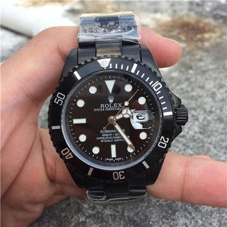 ロレックスROLEXブマリーナーブラック腕時計