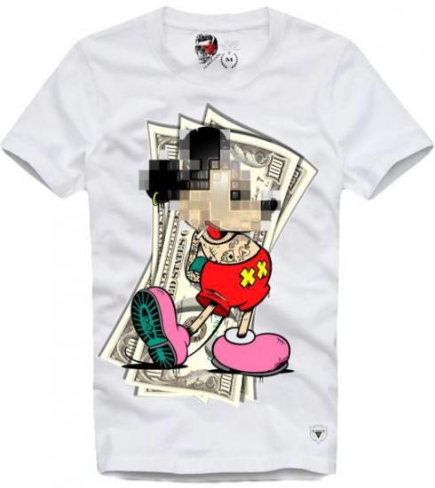 E1Syndicate Tシャツ 海外コラボ マネー  M
