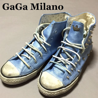 GaGa Milano☆ガガミラノ☆汚し加工スニーカー