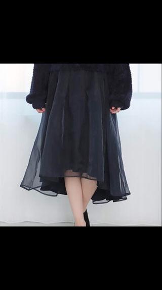 ワンアフターアナザーナイスクラップ  オーガンテールスカート