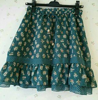 500円オリーブグリーンスカート